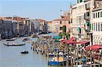 Der Canal Grande, Venedig, UNESCO World Heritage Site, Veneto, Italien, Europa