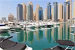 Dubai Marina, Dubai, Émirats Arabes Unis, Moyen-Orient
