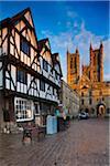 Historic Bailgate of Lincoln, Lincoln, Lincolnshire, England