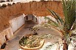 Höhlenwohnungen Grube Heim, Berber unterirdischen Behausungen, Matmata, Tunesien, Nordafrika, Afrika