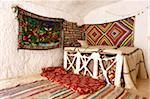 Interieur, Berber unterirdischen Behausungen, Matmata, Tunesien, Nordafrika, Afrika