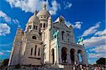 Basilique du Sacré Coeur, Montmartre, Paris, France, Europe