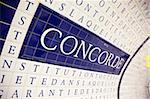 Place de la Concorde subway station, Paris, France, Europe
