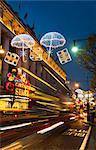 Selfridges et lumières de Noël, Oxford Street, Londres, Angleterre, Royaume-Uni, Europe