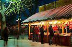 Christmas Market, The Southbank, London, England, United Kingdom, Europe