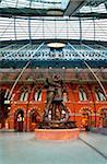 Gare de Saint Pancras, Londres, Royaume-Uni, Europe