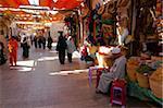 Altstadt Souk, Aswan, Oberägypten, Ägypten, Nordafrika, Afrika