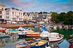 Das Quay, Dartmouth, Devon, England, Vereinigtes Königreich, Europa