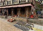 Place de potiers, Bhaktapur, Site du patrimoine mondial de l'UNESCO, la vallée de Katmandou, Népal, Asie
