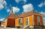 Notre-Dame-de-la-Delivrance church, Les Trois-Ilets, Martinique, French Overseas Department, Windward Islands, West Indies, Caribbean, Central America