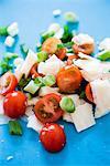 Vue surélevée de salade