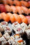 Vielzahl von Sushi, Toronto, Ontario, Kanada