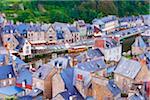 Sur les toits, Dinan, côtes-d'Armor, Bretagne, France