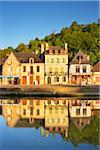Dinan et rivière de la Rance, côtes-d'Armor, Bretagne, France