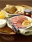 Petit déjeuner russe