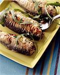 Sardines stuffed with Brousse