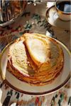 Stapel von Pfannkuchen