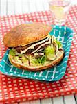 Soja-Protein-burger