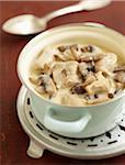 Blanquette de veau aromatisé à la vanille