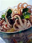Salade grecque petite pieuvre