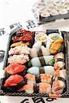 Take away sushis