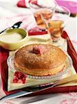 Gâteau aux fraises yogourt