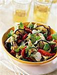 Salade de légumes grillé