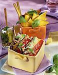 Légumes grillés au Pistou