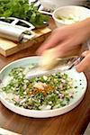 Preparing a Thai-style marinade