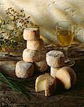 Crottins de Chavignol ,goat's cheese