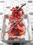 Salade de fruits d'été au Muscat, anis étoilé et vanille