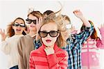Kinder mit 3D Brille