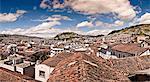 Old town and El Panecillo, Quito, Ecuador