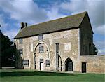 Abbaye de Denny. Vue extérieure de l'abbaye du nord-est.