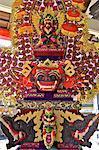 Indonesia, Bali, Ulun Danu Bratan temple, Galunghan festival, statue of a barong