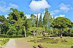 Indonesia, Bali, Ulun Danu Bratan temple, gardens