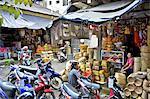 Indonesien, Bali, Kungkung, Markt
