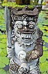 Indonesia, Bali, Brahma Asrama Vihara (bouddhist temple), statue of a Barong