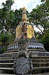 Indonesia, Bali, Brahma Asrama Vihara (bouddhist temple)