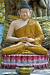 Indonesia, Bali, Brahma Asrama Vihara (bouddhist temple), statue of Buddha