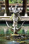 Indonesia, Bali, Gunung Kawi temple, statue