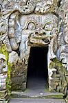 Indonesia, Bali, Goa Gajah temple (elephant cave), entrance