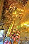 Thaïlande, Bangkok, Wat Pho, située à Bouddha