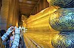 Thaïlande, touristique de Bangkok, le Wat Pho,