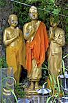 Thailand, Bangkok, Wat Saket, Buddha