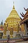 Thaïlande, Chiang Mai, wat phrathat doi suthep, le Chedi
