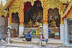 Thailand, Chiang Mai, wat phrathat doi suthep, faithful
