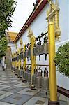 Thaïlande, Chiang Mai, wat phrathat doi suthep, cloches