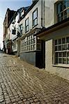 Old Town, Lymington, Hampshire, England, United Kingdom, Europe