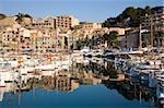 Découvre sur le port, Port de Soller, Majorque, îles Baléares, Espagne, Méditerranée, Europe
